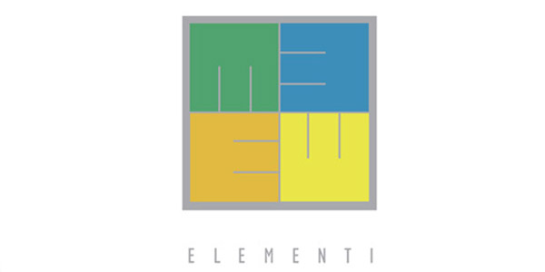 bali logo design : Elementi lighting and painting : Elementi-arts