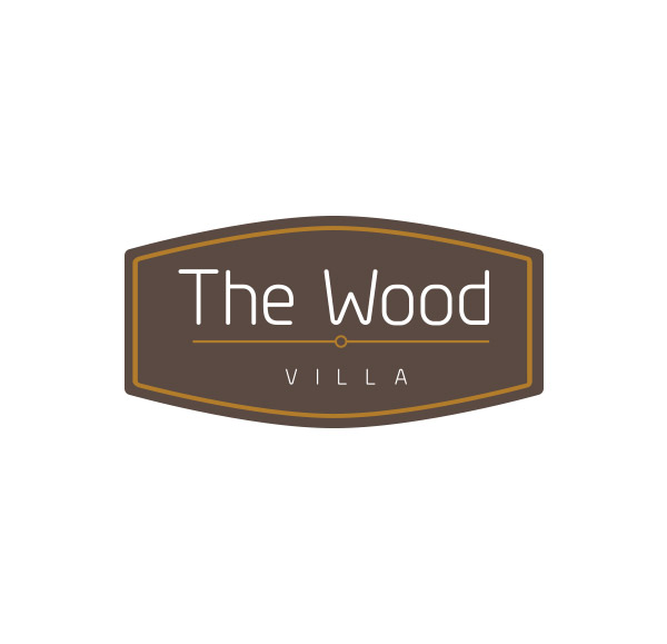 bali logo design : The Wood villa : the-wood-villa