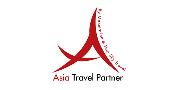 bali logo design : asia travel partner : asia-travel-partner