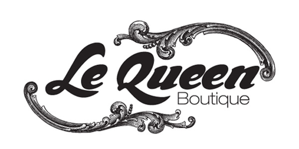 Project logo design client lequeen logo made for a fashion boutique in